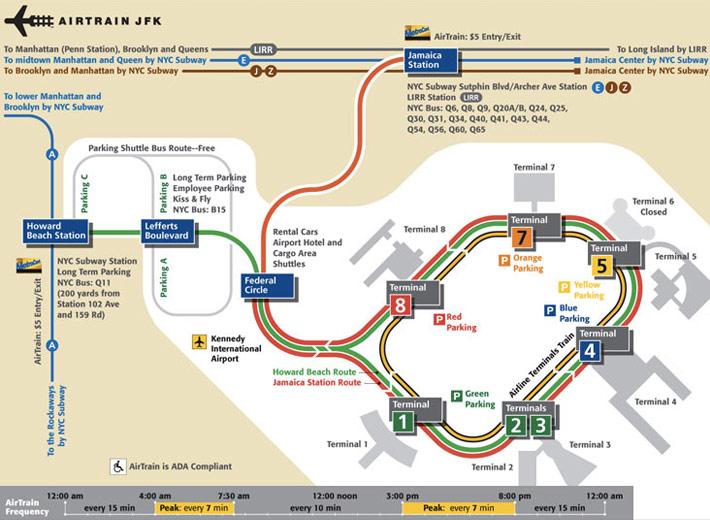 Airport (метро A), станции