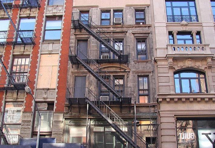 Фото домов в Нью-Йорке