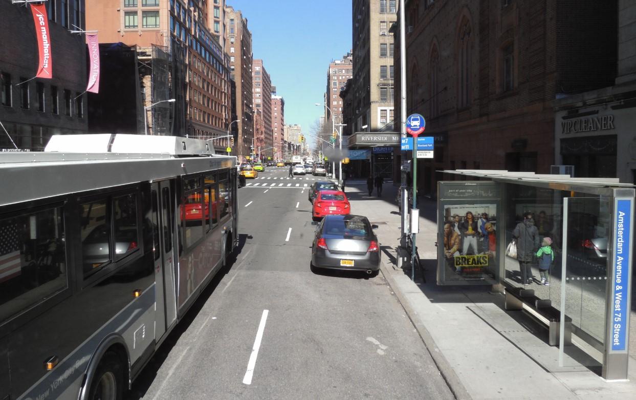 Автобусы в Нью-Йорке