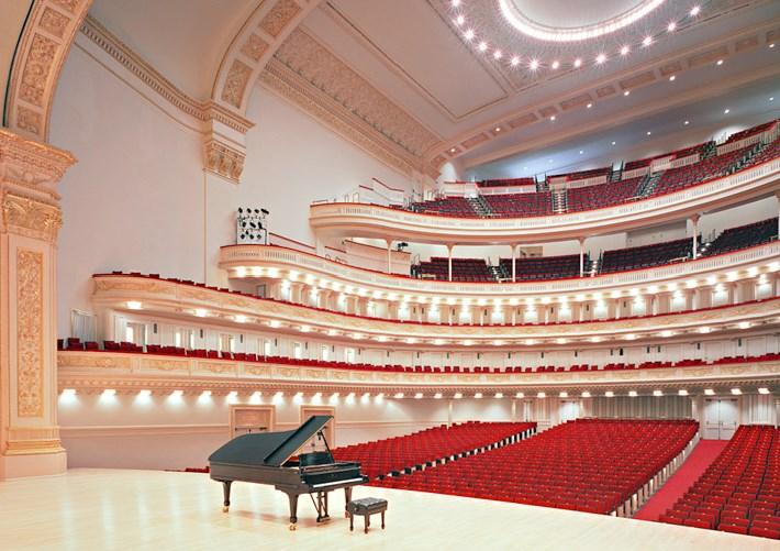 Карнеги-Холл в Нью-Йорке