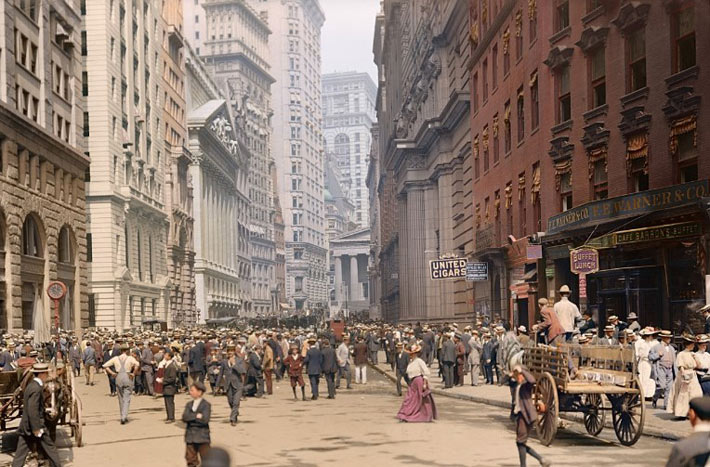Нью-Йорк 1900-ые года