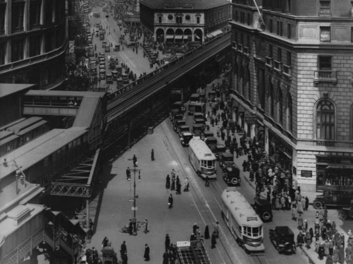 Транспорт Нью-Йорка в 1930-ых годах