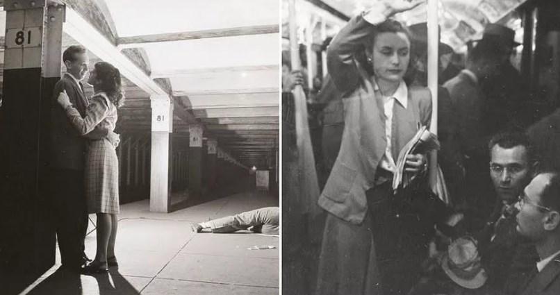 Метро в Нью-Йорке в 40-х годах