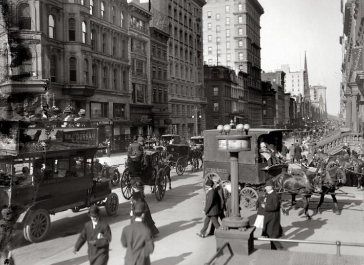 Фотографии Нью-Йорка 30-е года