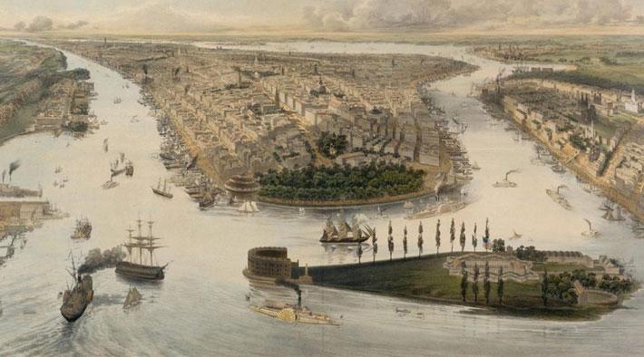 История создания города Нью-Йорк