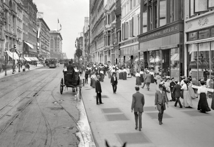 Нью-Йорк 30-х годов