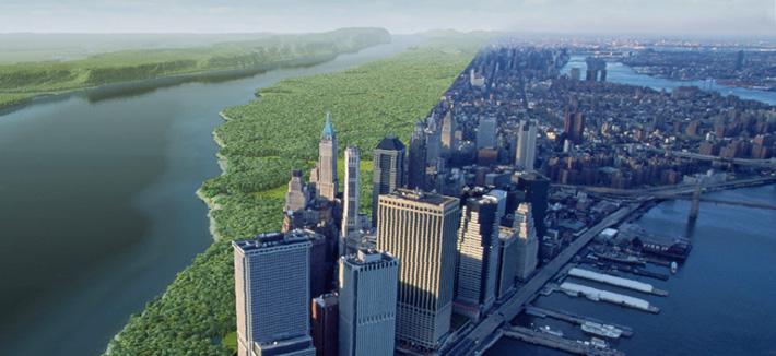 Нью-Йорк - было и стало