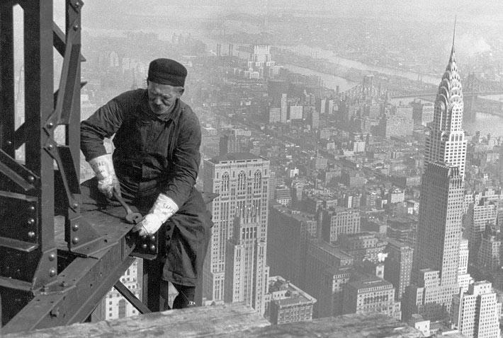Исторические и старые фотографии Нью-Йорка