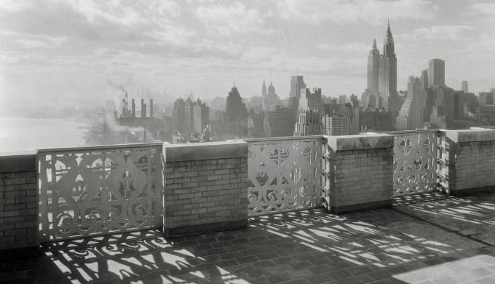 Вид на город Нью-Йорк (1936 год)