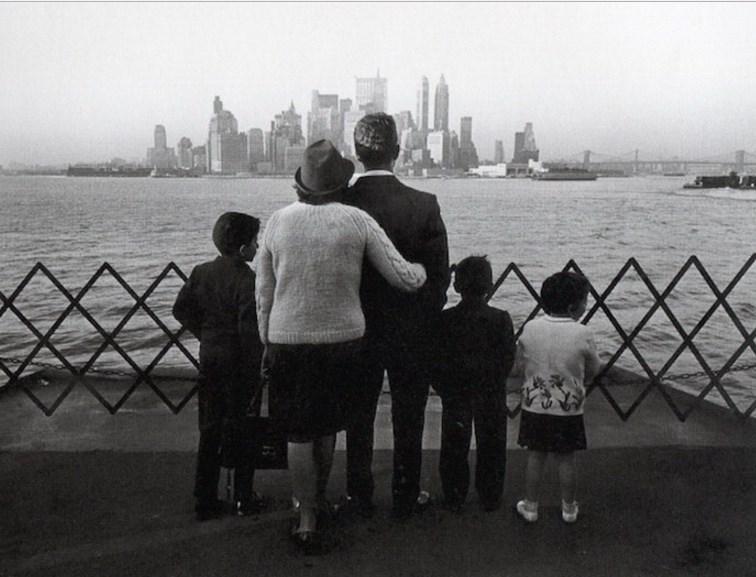Туристы в Нью-Йорке в 1960-х годах