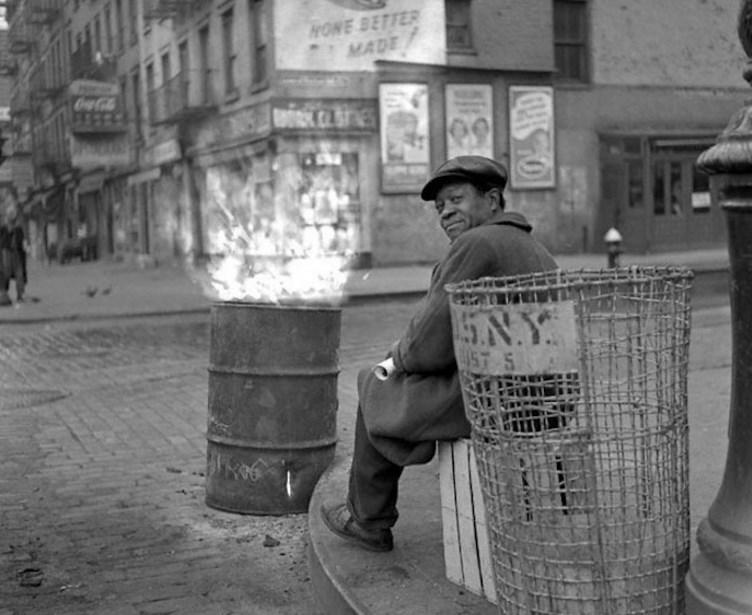 Фото Нью-Йорка 50-х годов