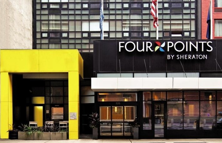 Отель в Нью-Йорке на Манхеттене Four Points by Sheraton New York Downtown