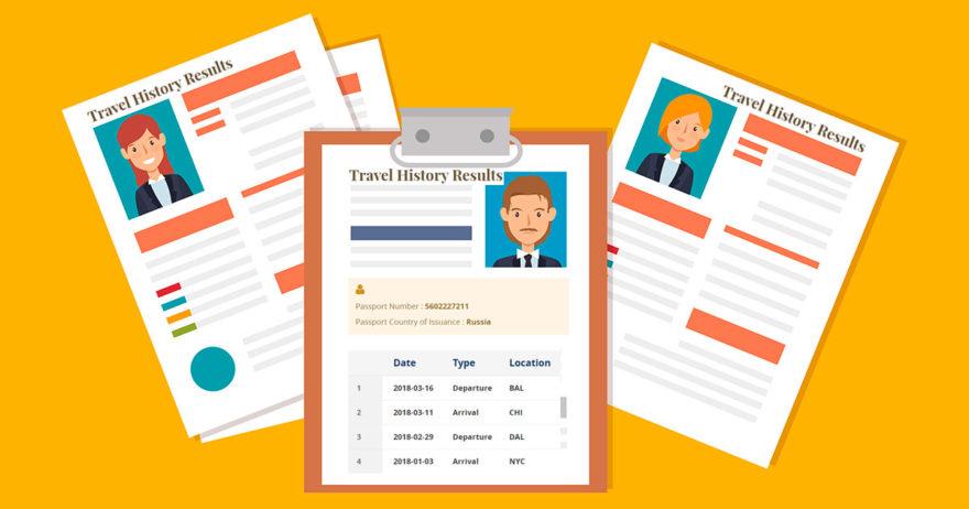 Как узнать въезды и выезды из США